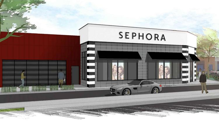 A rendering of a new Sephora store for Buckhead.