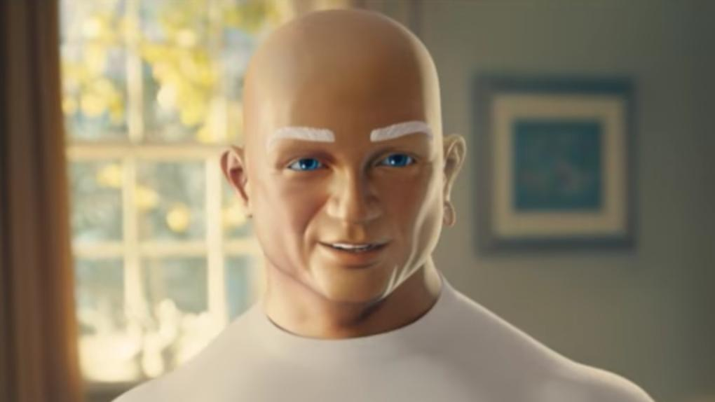 pgs mr clean gets revealing in super bowl commercial cincinnati business courier