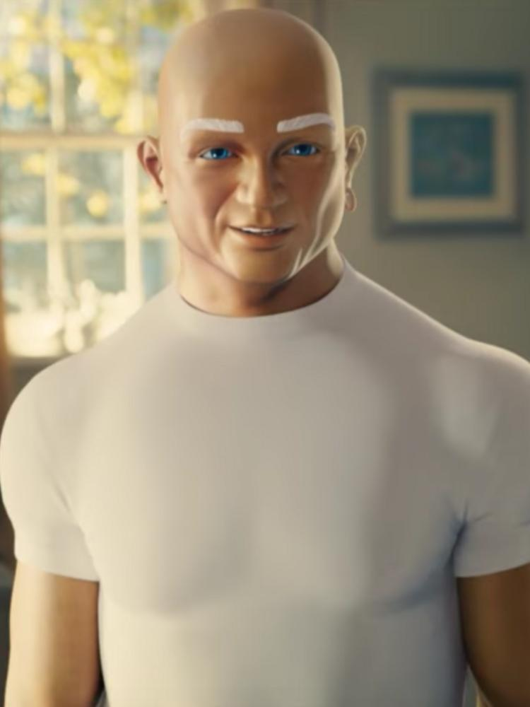 mr clean reveals his six pack and more in a sexy dance for a