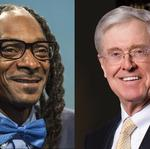 <strong>Charles</strong> <strong>Koch</strong> and Snoop Dogg — as co-stars?