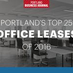 Portland's top 25 office leases of 2016