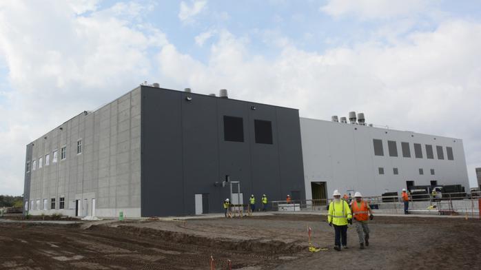 Workers move into Osceola's $75M smart sensor center