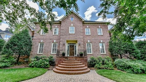Custom Brick Home in Charlotte