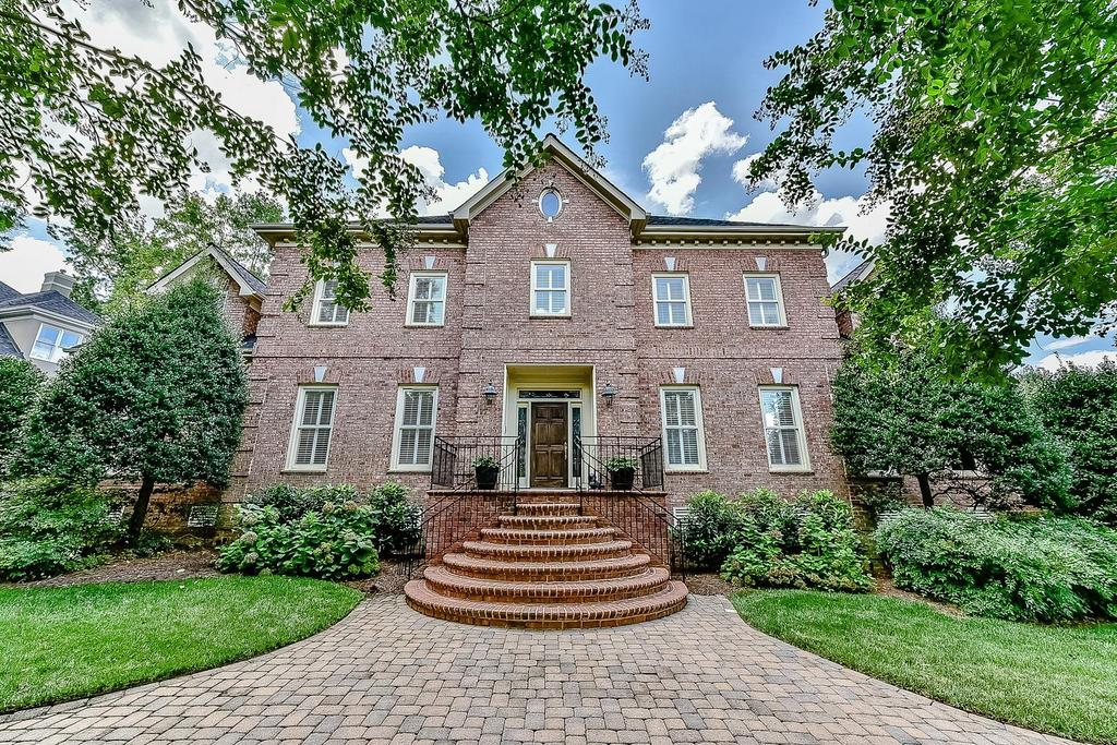 Charlotte luxury real estate for sale 5437 old course for Custom house charlotte