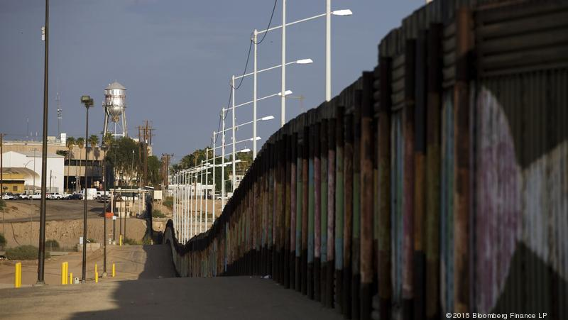 Border Wall Fence Mexico