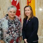 Canada's Consul General visits New Mexico