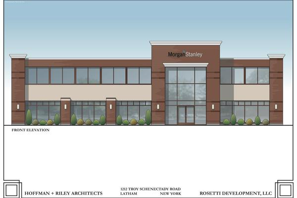 Morgan Stanley building new office in Latham, NY - Albany Business