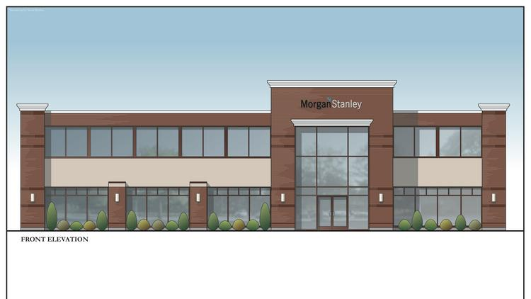 Morgan Stanley Building New Office In Latham Ny Albany