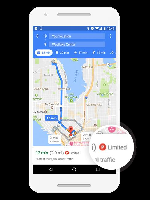 Google Maps will tell you how bad Charlotte parking is before you go ...