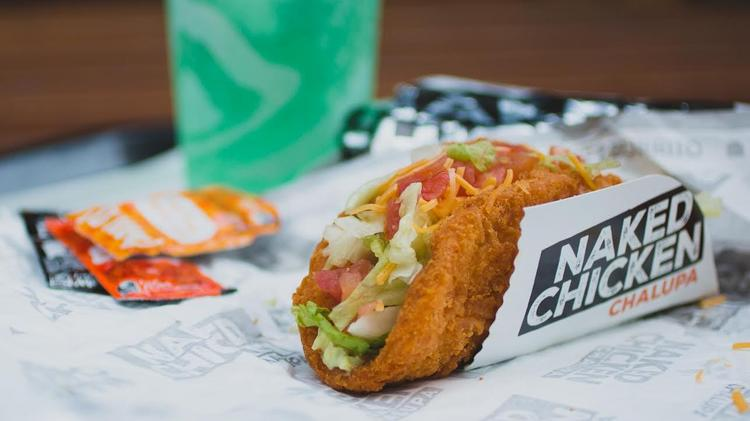 Naked in a how chalupa are chicken many calories