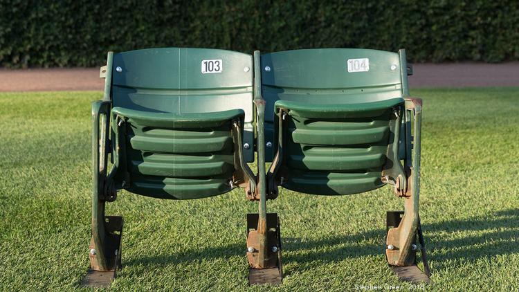 Pleasing Chicago Cubs Hit On New Revenue Stream With Used Seat Sale Gmtry Best Dining Table And Chair Ideas Images Gmtryco
