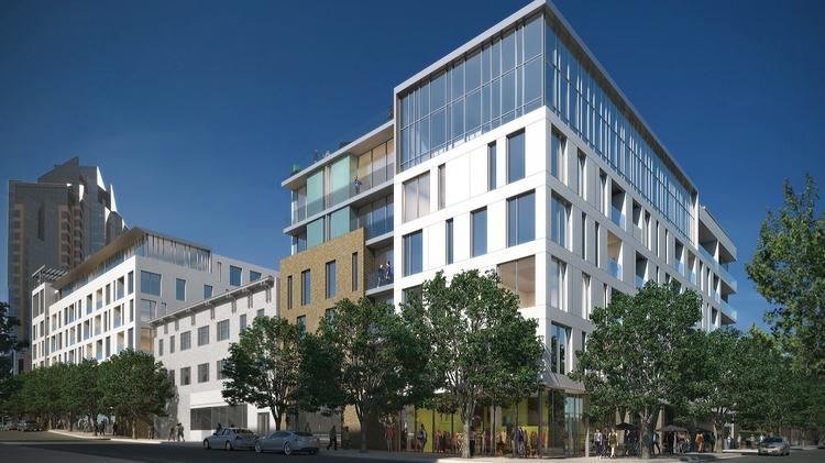 Renderings Released By The Sacramento Kings Show A Five Story Building At  The Corner Of