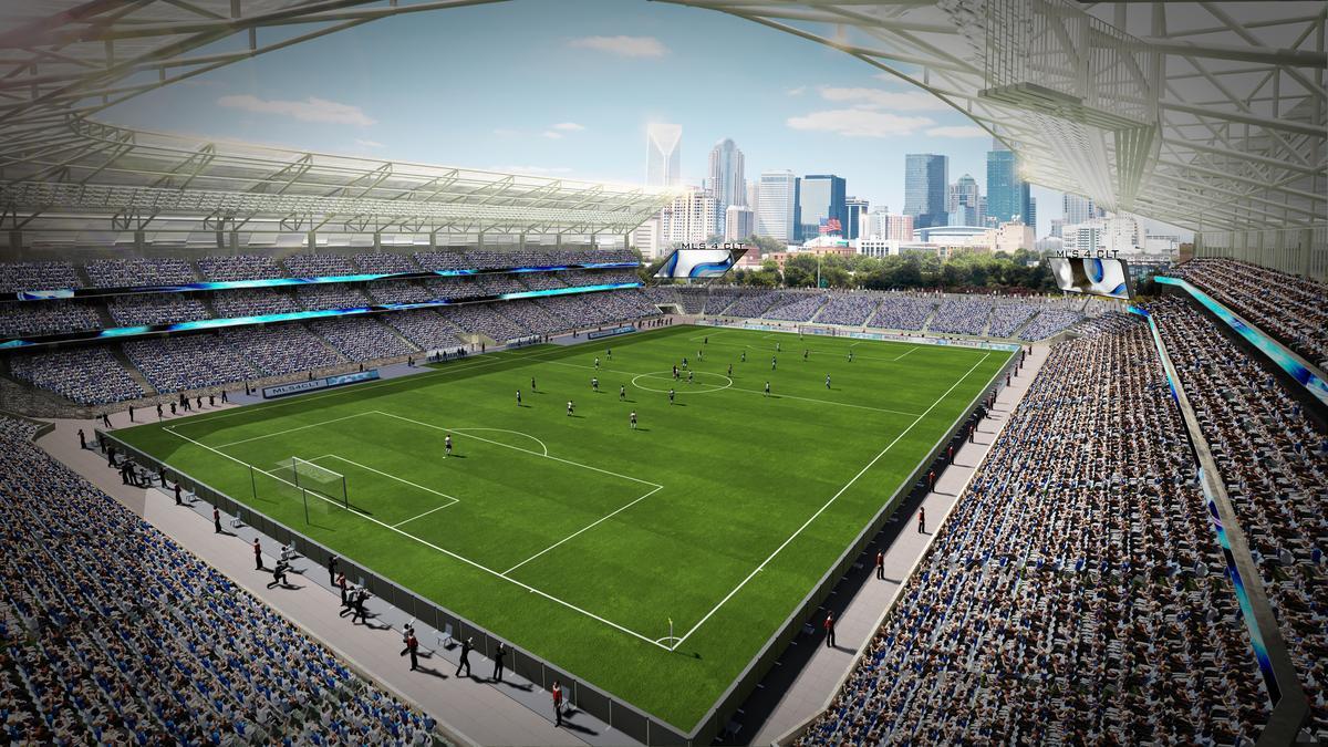 CLT soccer bid faces potential $30M stadium shortfall - Charlotte Business Journal