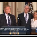 Trump rivals McCain and Flake like Trump's Supreme Court pick Neil Gorsuch