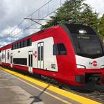 Might California retaliate if Caltrain electrification funding is denied?