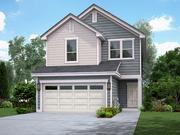 A rendering of a home for rent in the Rivers Edge community being built in Georgetown by AHV Communities.