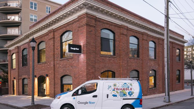 Google Fiber is connecting customers in Raleigh.