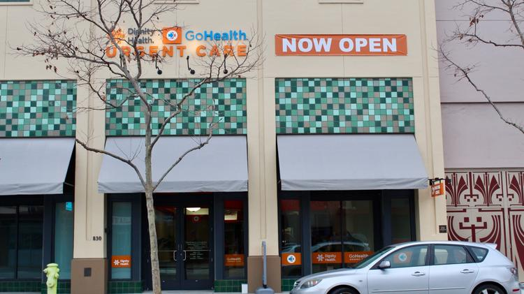 Dignity Health and GoHealth open eighth urgent care spot in