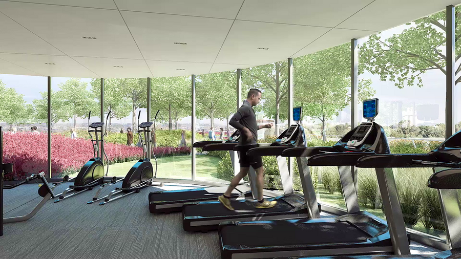 State-of-the-art fitness facility