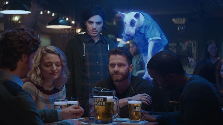 spuds mackenzie returns in bud light super bowl ad st louis