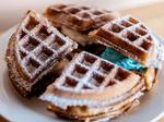 Waffles and ice cream come together in Maplewood