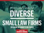 These are Portland's most diverse 'small' law firms