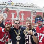 New England Patriots top Atlanta Falcons in historic Super Bowl in Houston (SLIDESHOW)