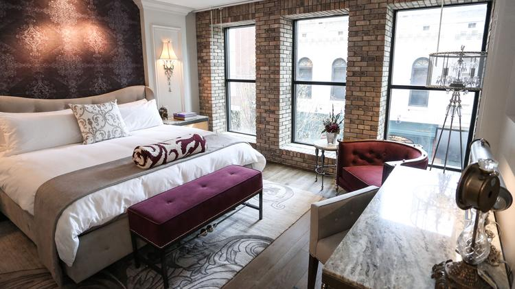 Inside the transformation of the ivey 39 s in uptown for Charlotte nc boutique hotels