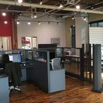 Cool Offices: <strong>Lee</strong> Branding's office is art showplace