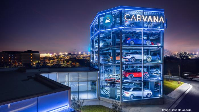 Lackluster first day of trading for Carvana on NYSE
