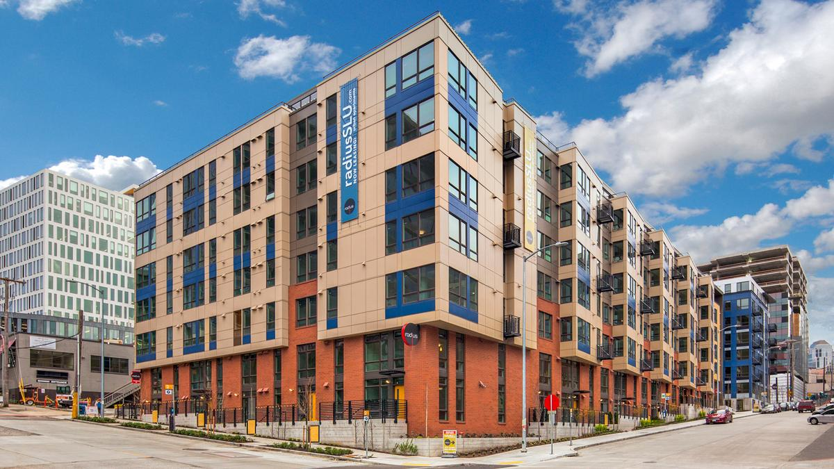 Apartment building next to amazon hq sells for 141m or for Seattle view apartments