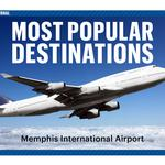 Ranked: New airport data shows top 25 destinations from Memphis