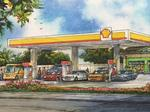 Aloha Petroleum leases warehouse near new Shell station, Dunkin' Donuts store
