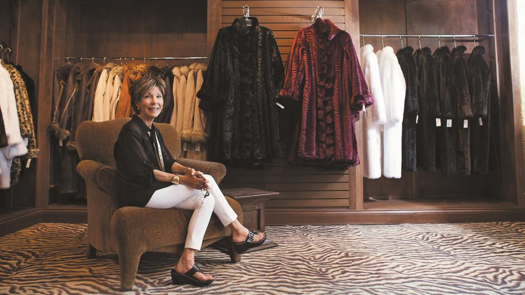 How she became the nation's leading faux fur designer
