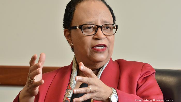 Shirley Ann Jackson is the president of Rensselaer Polytechnic Institute in Troy, New York.