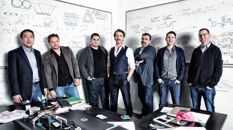 Arrivo's co-founders include Andrew Liu, Knut Sauer, Jadon Smith, Brogan BamBrogan, Nima Bahrami, William Mulholland and David Pendergast.