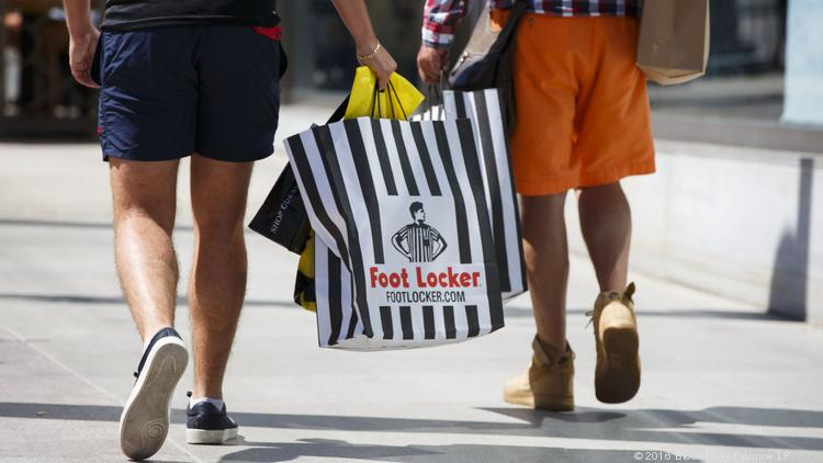 bd8762252278 Biggest stock losers  Foot Locker — which downplays Amazon pain — drops  amid Bannon selloff
