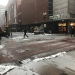 Boston-area businesses grapple with the season's first snowstorm