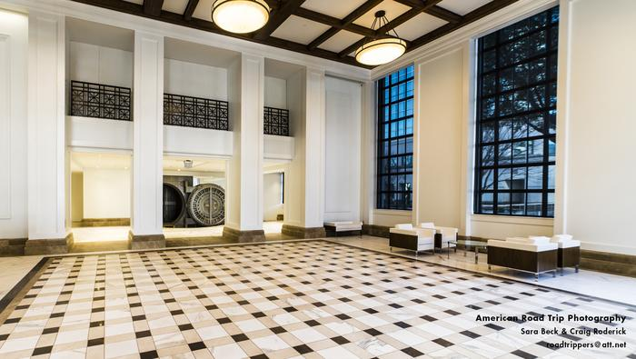 IN PICTURES: A look inside the newly renovated Federal Reserve building