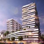 Developer proposes 19-story mixed-use building by Kobi Karp