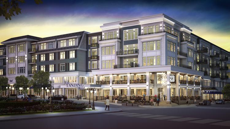A Wayzata Dining Boom Two Story Hotel Restaurant Joining