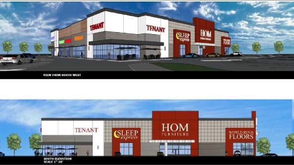 Hom furniture development planned for shingle creek for Hom furniture inc