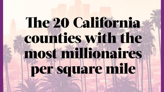 Here are the L.A. areas with the most people earning more than $1 million a year