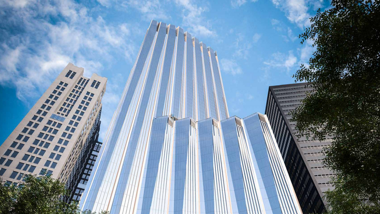 Millennium Partners, Handel Architects, D/R/E/A/M Collaborative have partnered to propose a 750-foot tower at 115 Winthrop Square in Boston's Financial District.