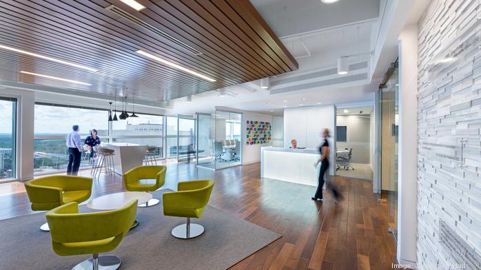 2017 Coolest Office Spaces: CBRE Inc.