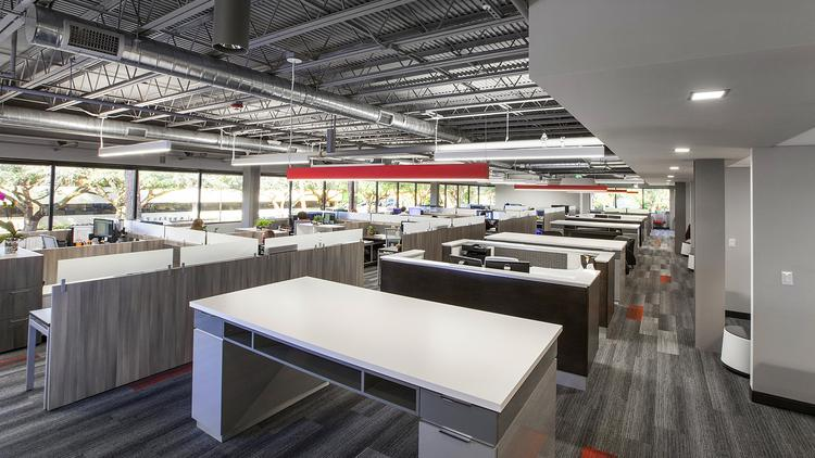 Forum Architecture U0026amp; Interior Design Inc.u0027s New Office Features An Open
