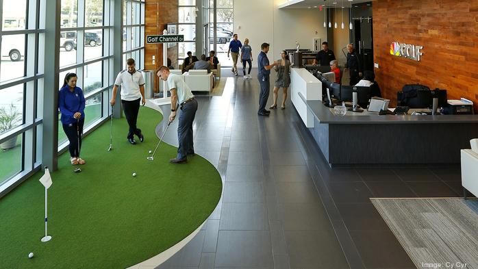 2017 Coolest Office Spaces: Golf Channel