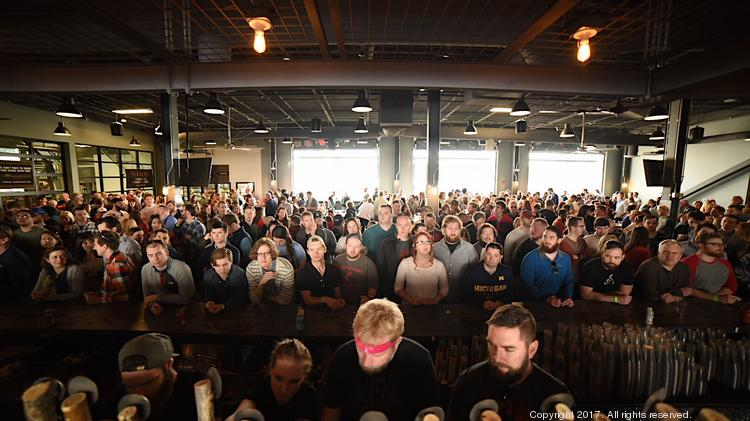 MadTree Brewing completely sold out of beer during its grand opening on Feb. 11.