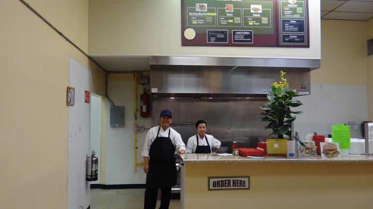 Owner Mike Souphakheth And Lee Chantha Operate Cafe Express In The Food Court At 114 N