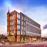 Developer breaks ground on 100% speculative office, retail building just west of uptown